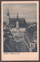 02625   (O-86...)   Bautzen   -Rathaus und Dom-   (PK-00154)