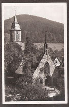 76332   (W-7506)   Bad Herrenalb   -Paradies und evang. Kirche-   (PK-00137)