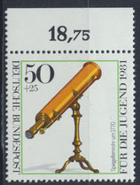 BRD 1091 postfrisch mit Bogenrand oben
