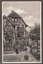 99817   (O-5900)   Eisenach   -Wartburg mit Lutherbrunnen-   (PK-00442)