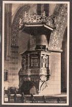 37671   (W-3470)   Höxter  a.d. Weser   -Kilianikirche Kanzel-   (PK-00123)