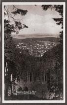 9989.   (O-5804)   Friedrichsroda   -Blick v.d. Schauenburg-    (PK-00376-