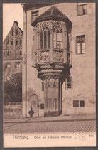 904..   (W-8500)   Nürnberg   -Erker am Sebaldus-Pfarrhof-   (PK-00406)