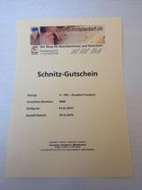 Schnitz-Gutschein