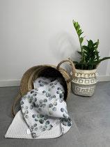 Musselin Decke *Eukalyptus*