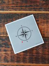 [Postkarte] Kompass