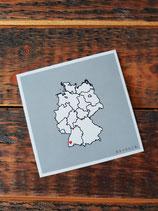 [Postkarte] Deutschlandkarte