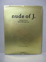 写真集 nude of J. 五味彬 トニ メネグッツォ