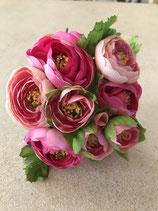 Rankunkelbund rose-pink als Strauß