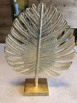 Blatt-Ornament Gold