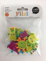 Filzi Filz Sticker (Monster)