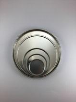 Metallschmelzform rund, für Schmelgranulat