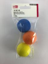 Moosgummibälle farbig sortiert