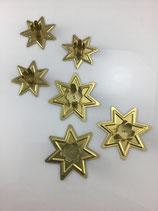 Kerzenhalter Stern gold