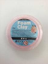 Foam Clay Pink Glitter