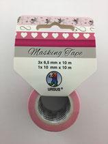 Masking Tape ( Herzchen,Engel,Pink)