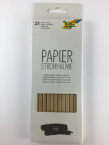 Papierstrohhalme Natur