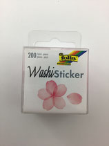 Washi Sticker (Blatt rosa)