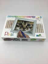 Pixel-Set Katze