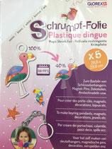 Schrumpf-Folie bedruckbar Glo