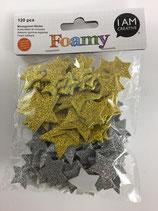 Foamy Moosgummi Sticker (Sterne)
