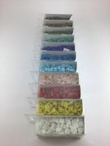 MosaikPro Glassteine 10x10x4mm 200g ~302 Stk