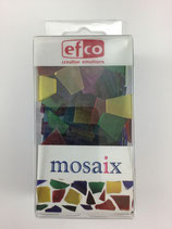 Mosaik Glasstücke matt sortiert