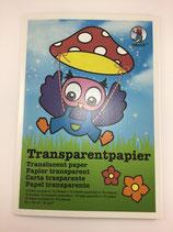 Transparentpapier 10 Blatt 23x33cm mix