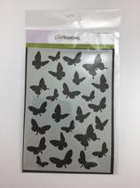 Schablone Schmetterlinge Ce