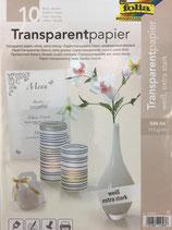 Transparentpapier  weiss