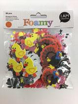 Foamy Moosgummi Sticker (Tiere)