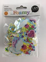 Foamy Moosgummi Sticker (Prinzessin)