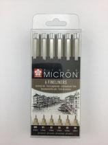 Micron Fineliners Sakura-Set