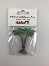 Palme Holz 7cm