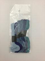 Stickgarn mix Blau C