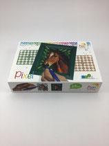 Pixel-Set Pferd