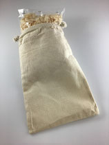 Baumwollsäckli mit Zirbenholz