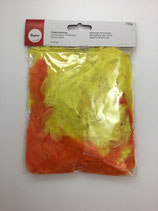 Federmix Gelb-Orange 3-10cm Ray