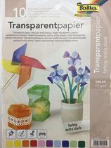 Transparentpapier farbig