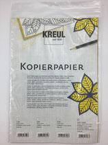 Kopierpapier Gelb&Weiss je 5x