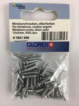 Miniaturschrauben 15x3mm