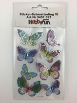 Sticker Schmetterling BO