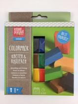 Radiergummi zum Modellieren Colorpack