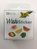 Washi Sticker (Monstrera,Melone,Orange)