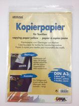 Kopierpapier Gelb 3 Blatt
