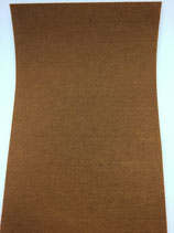 Filzplatte Kamelbraun 30x45cmx2mm