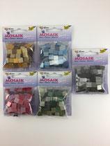 Kunststoff Mosaik glitter 10x10mm