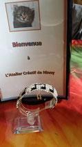 Bracelet Bollène - motif notes de musique