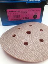 Norton foam schuurschijven P360 - 150mm