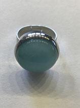 "Ring ""Mint"", Edelstahl, ca. 18mm"